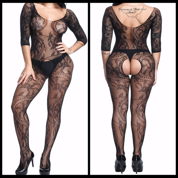 Miss Babydoll Other - ❤️NEW Sexy Open Crotch Bodystocking Lingerie #L010